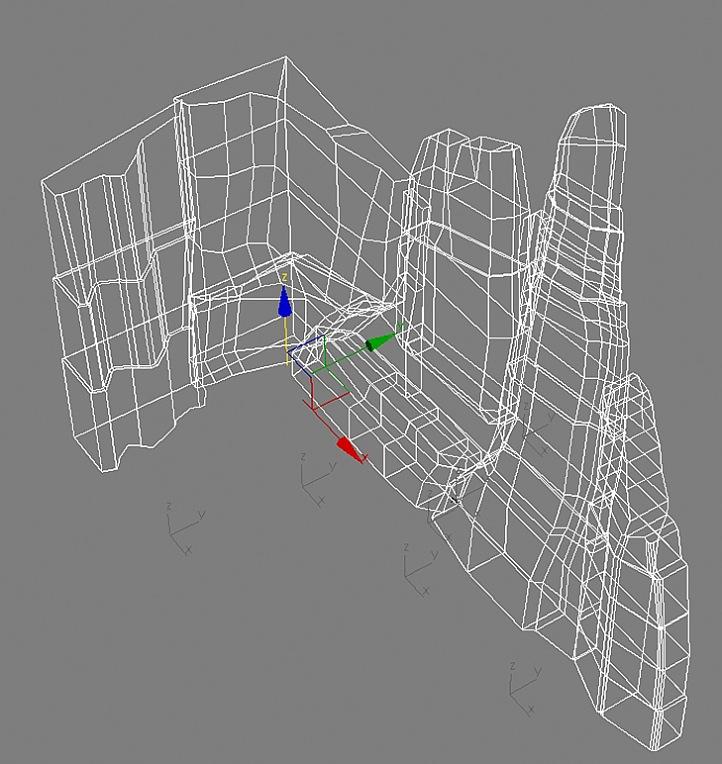 Трехмерная модель каркаса скалодрома, фото 5