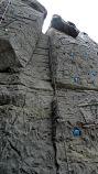 """Скалодром, """"Камин"""" - один из сложнейших элементов рельефа. Картинка 18. Работы под открытым небом"""