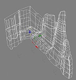 Трехмерная модель каркаса скалодрома. Картинка 5. Работы под открытым небом