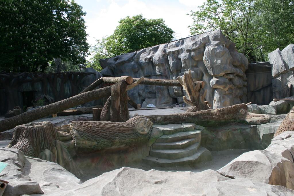 Киевский зоопарк. Медвежий континент - фото 1